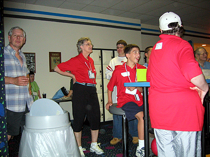 Volunteers at Special Olympics Lancaster County